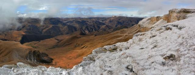 Панорама плато Бермамыт. Северный Кавказ