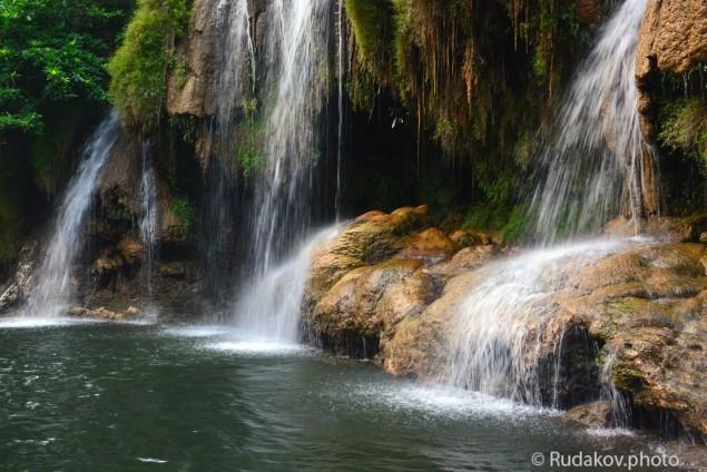 Водопад на реке Квай