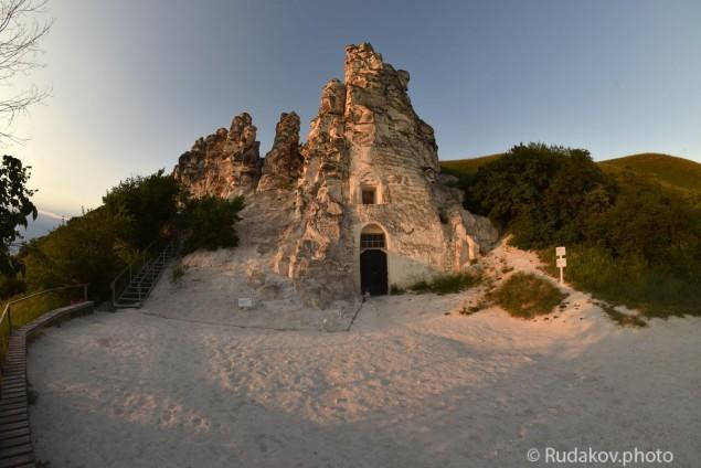 Большие Дивы. Пещерный храм в честь Сицилийской иконы Божией матери