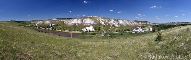 Панорама Костомаровского Спасского женского монастыря