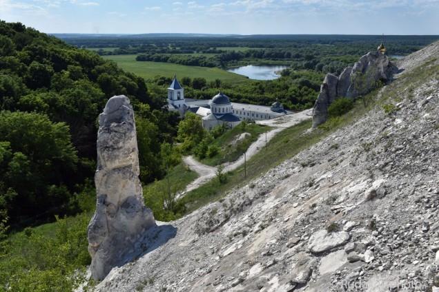 Дивногорье. Свято-Успенский мужской монастырь