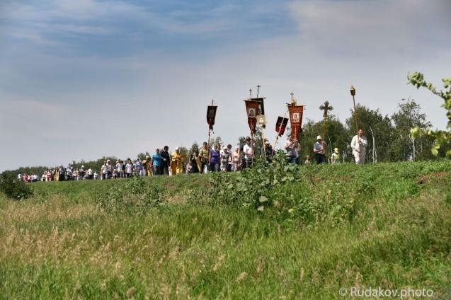 Крестный ход из Уварова в Старую Ольшанку в День Крещения Руси