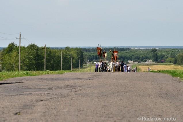 Крестный ход в Старую Ольшанку (Тамбовская область)