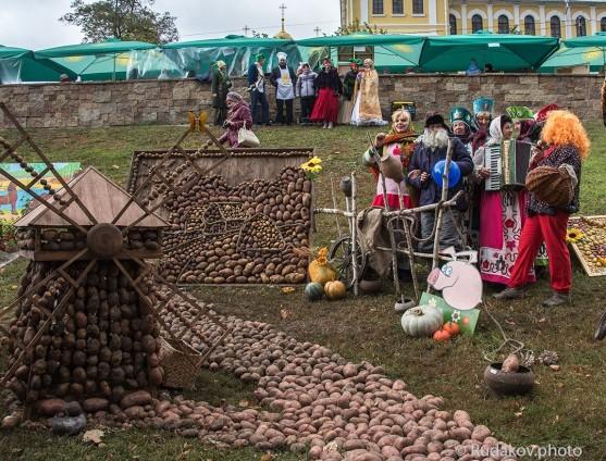 Фестиваль картошки  в Тамбове