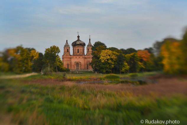 Осень в Ольшанке