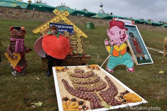 Тамбов. Покровская ярмарка. Фестиваль картошки.