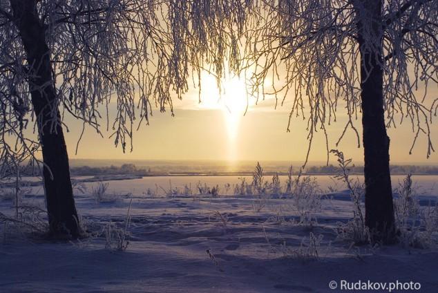 Рассвет над Бокинскими прудами