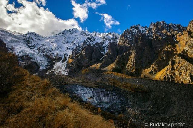 Сказский ледник (Северная Осетия)