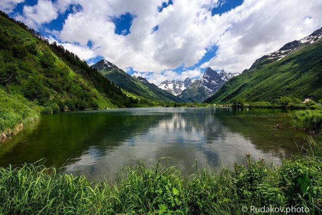 Озеро Туманы-кель