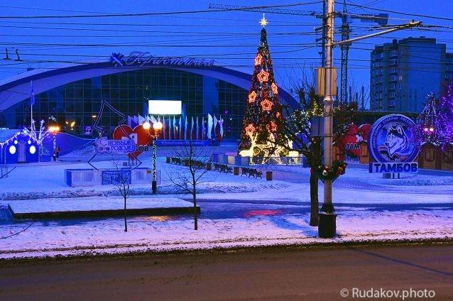 Утро новогодней столицы России