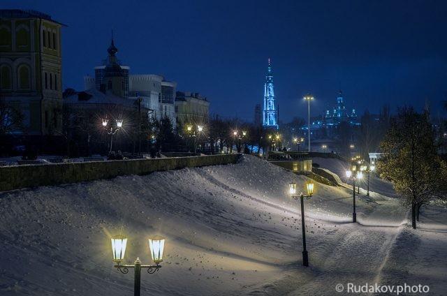 Зимний вечер в Тамбове
