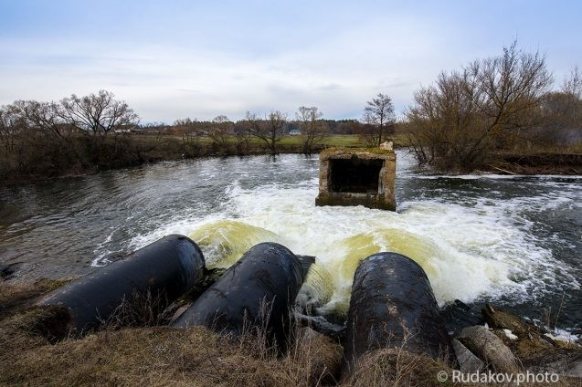 Река Цна в Воронцовке