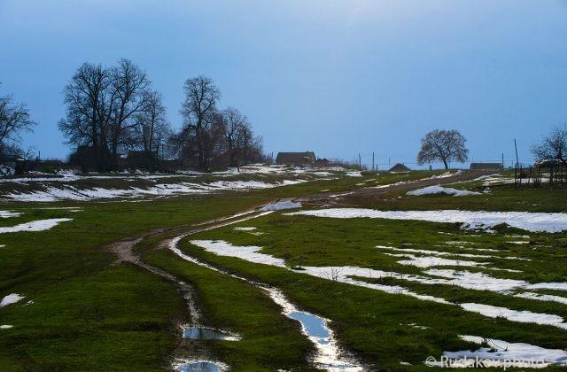Весна в Воронцовке