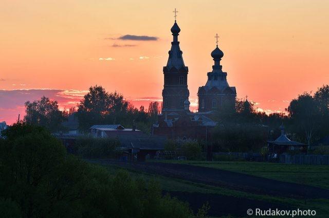 Церковь преподобного Сергея Радонежского с.Стрельцы