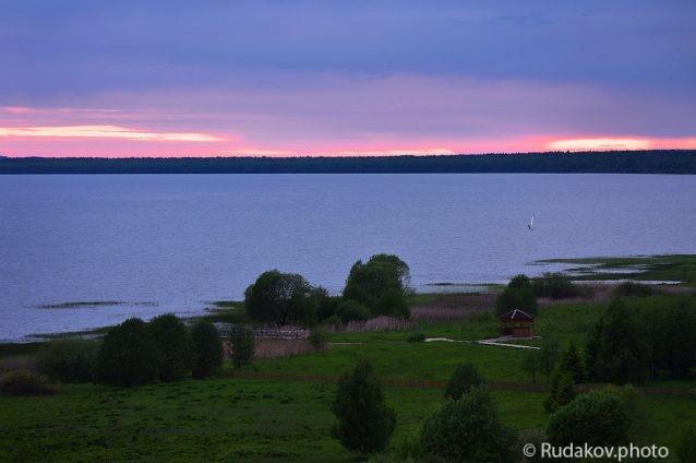 Вечер на Плещеевом озере