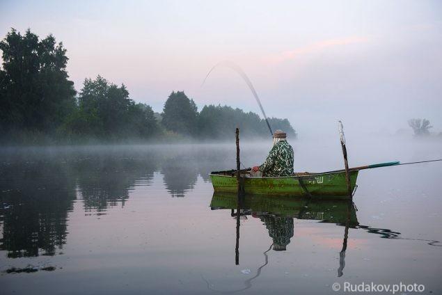 Ранним утром на Цне