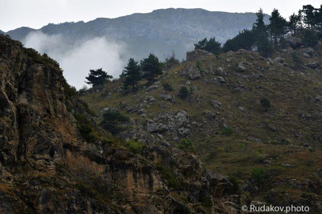 Скалы Куртатинского ущелья