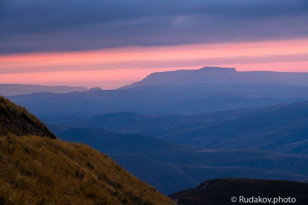 Вид с мистической горы Сирх