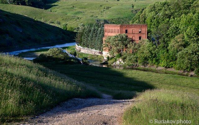 Мельница на реке Воргол