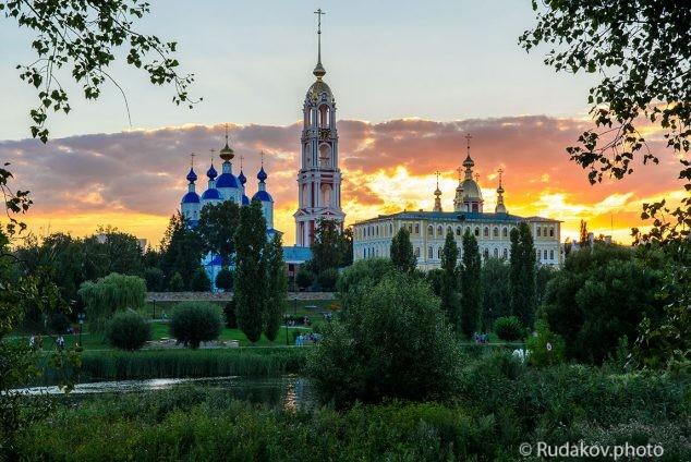 Тамбов. Казанский Богородичный монастырь.