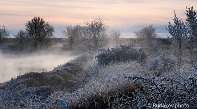 В первый день зимы
