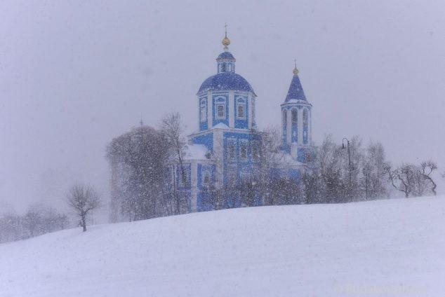 Метель.Покровская церковь. Тамбов.