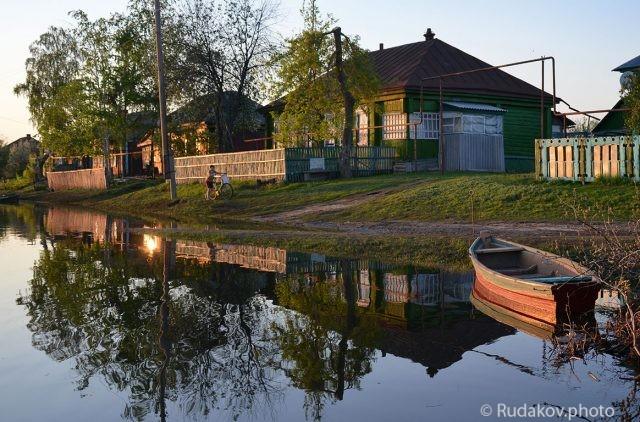 Большая вода. Село Перевоз.