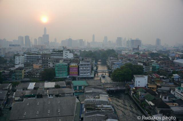 Восход над Бангкоком
