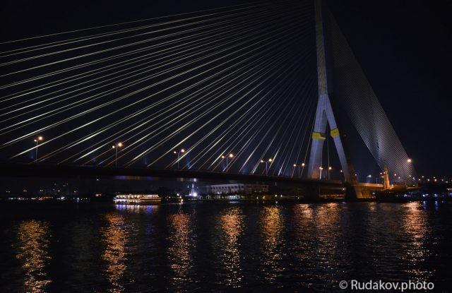 Мост через реку Чао Прайя