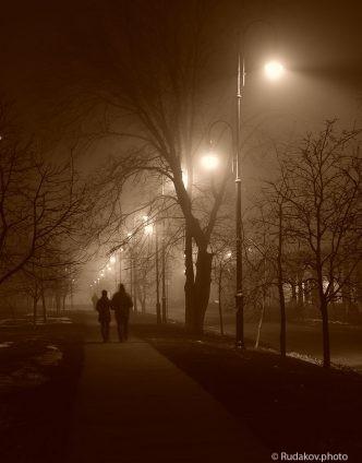 Туманная аллея