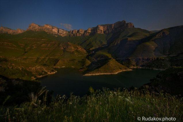 Ночь над озером Гижгит