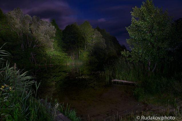 Лунной ночью на Челновой