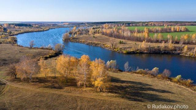 Осень на Текинском пруду