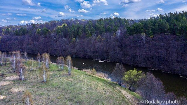 Краски апреля. Река Цна в районе села Горелое
