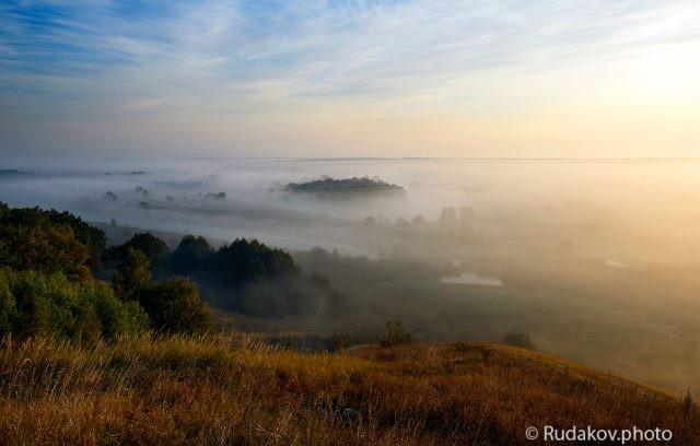 Рассвет на Барской горе