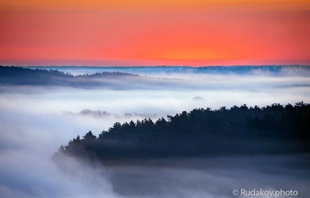 Туман над поймой