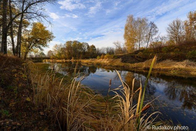 Осень на старом шлюзе