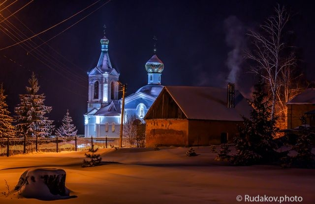 Крещенская ночь в Трегуляе